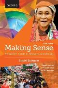 Making Sense In The Social Sciences A Students Guide To Research & Writing