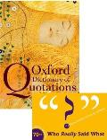 Oxford Dictionary Of Quotations 7th Edition