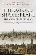 Oxford Shakespeare Complete Works 2nd Edition
