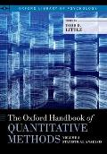 Little: Ohb Quantitative Methods V2 P (Oxford Library of Psychology)