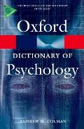 A Dictionary of Psychology (Oxford Dictionary of Psychology)