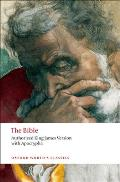 Bible : Authorized King James Version With Apocrypha (97 Edition)
