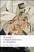 A Portrait of the Artist as a Young Man (Oxford World's Classics) Cover