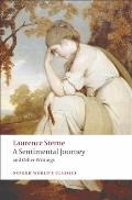 A Sentimental Journey and Other Writings (Oxford World's Classics) Cover