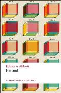 Flatland: A Romance of Many Dimensions (Oxford World's Classics) Cover