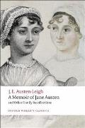 A Memoir of Jane Austen: And Other Family Recollections Cover