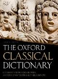 The Oxford Classical Dictionary Cover