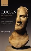 Lucan: De Bello Civili, Book 1