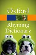 New Oxford Rhyming Dictionary (Oxford Paperback Reference)