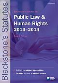Blackstone's Statutes on Public Law & Human Rights