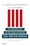 Introduction To Legal System of U. S. (4TH 10 Edition)