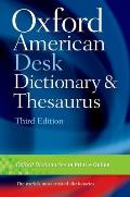 Oxford American Desk Dictionary and Thesaurus