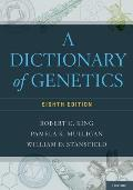 A Dictionary of Genetics Cover