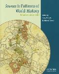 Sources in Patterns of World History Volume 2 (12 Edition)
