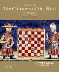 Sources for Cultures of West, Volume 1 (13 Edition)
