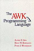 The awk Programming Language Cover