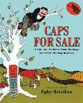 Caps for Sale: A Tale of a Peddler, Some Monkeys and Their Monkey Business (Young Scott Books) Cover