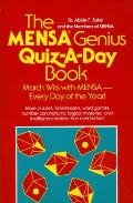 The Mensa Genius Quiz-A-Day Book Cover