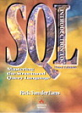 Introduction to SQL: Mastering the Relational Database Language with CDROM