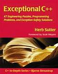 Exceptional C++ 47 Engineering Puzzles Programming Problems & Solutions