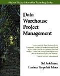 Data Warehouse Project Management With CD ROM