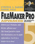 FileMaker Pro 5 Advanced for Windows and Macintosh (Visual Quickpro Guides)