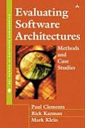 Evaluating Software Architectures: Methods and Case Studies (SEI Series in Software Engineering) Cover