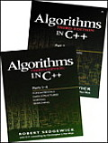 Bundle of Algorithms in C++, Parts 1-5: Fundamentals, Data Structures, Sorting, Searching, and Graph Algorithms