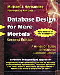 Database Design for Mere Mortals 2ND Edition Cover