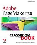 Adober PageMakerR 7.0 Classroom in a Book With CDROM