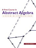 First Course In Abstract Algebra 7th Edition