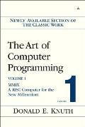 The Art of Computer Programming, Volume 1, Fascicle 1: MMIX: A RISC Computer for the New Millennium