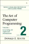 The Art of Computer Programming, Volume 4, Fascicle 2: Generating All Tuples and Permutations Cover