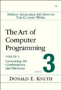 The Art of Computer Programming, Volume 3, Fascicle 3: Generating All Combinations and Partitions
