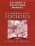 Student's Solutions Manual to Elementary Statistics 7/E 85920