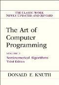 The Art of Computer Programming, 3rd Edition, Volume 2: Seminumerical Algorithms Cover