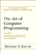 The Art of Computer Programming, 2nd Edition, Volume 3: Sorting and Searching