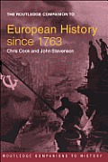 The Routledge Companion to European History since 1763
