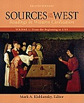 Sources of the West, Volume I (8TH 12 Edition)