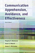 Communication Apprehension, Avoidance, and Effectiveness Cover