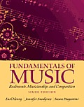 Fundamentals of Music: Rudiments, Musicianship, and Composition