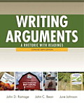 Writing Arguments: A Rhetoric with Readings, Concise Edition