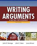 Writing Arguments: A Rhetoric with Readings Cover