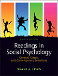 Readings in Social Psychology General Classic & Contemporary Selections 8th Edition