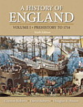 Mysearchlab with Pearson Etext -- Standalone Access Card -- For History of England, Volume 1, a (Prehistory to 1714)