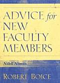 Advice For New Faculty Members Nihil Nim