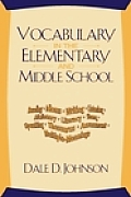Vocabulary in Elementary and Middle School (01 Edition)