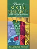 Basics of Social Research: Quantitative and Qualitative Approaches