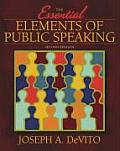 Essential Elements of Public Speaking (2ND 06 - Old Edition) Cover