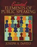 Essential Elements Of Public Speakin 2nd Edition